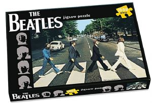 Beatles Abbey Road 1000 piece jigsaw puzzle 680mm x 480mm  (pl)
